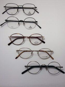ronde metalen bril